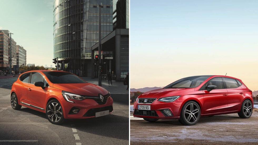 Comparativa Renault Clio 2019 vs Seat Ibiza