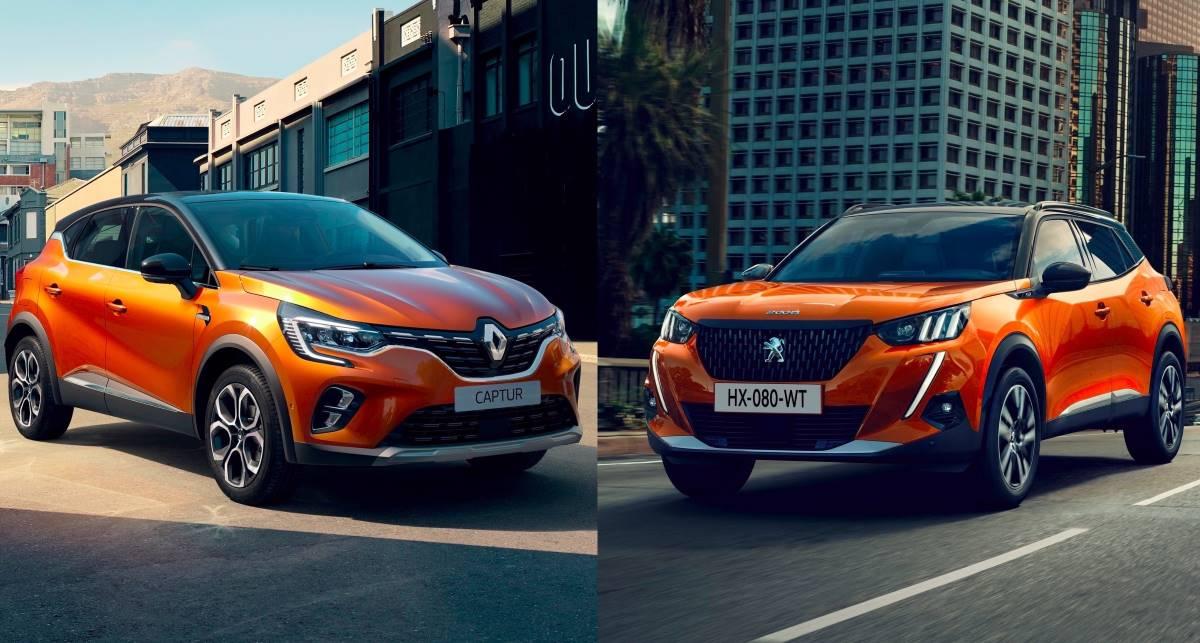 Comparativa Renault Captur vs Peugeot 2008