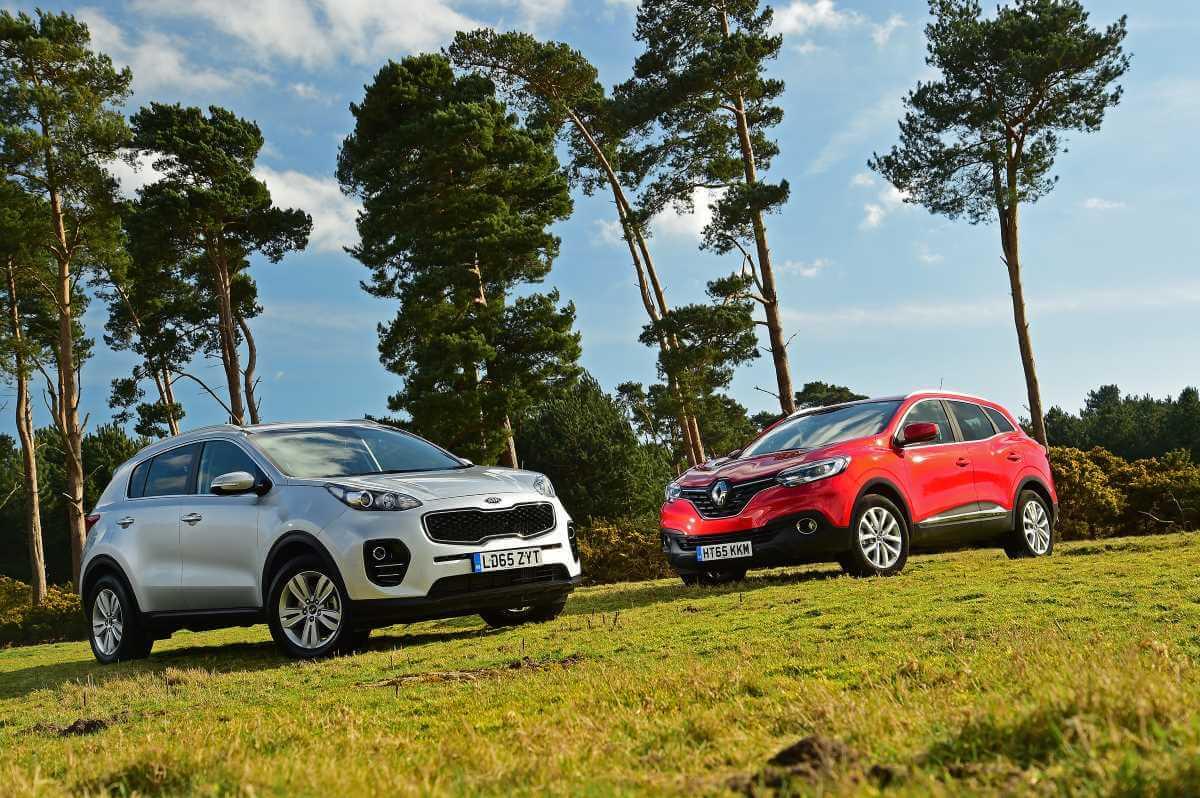 Comparativa Renault Kadjar vs Kia Sportage