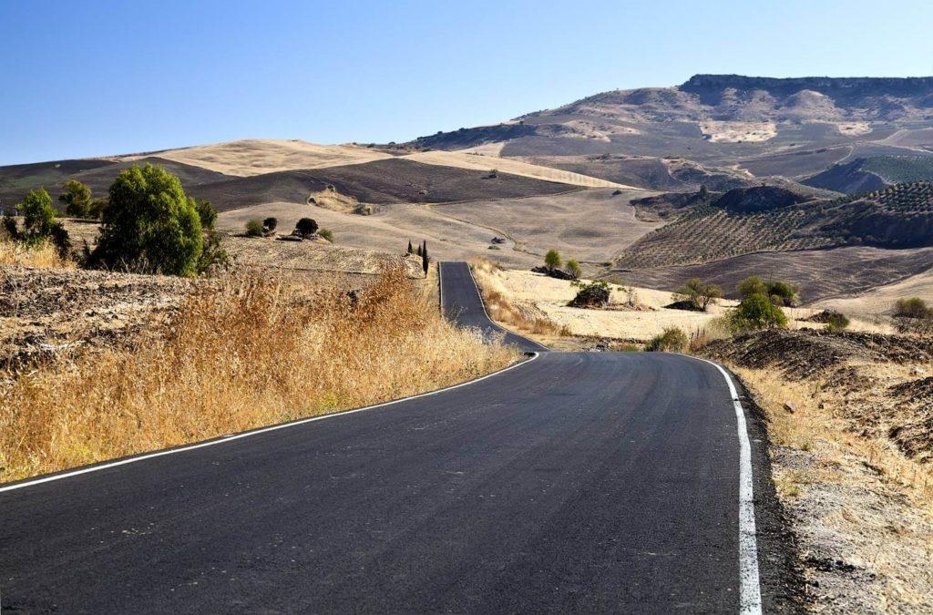 carretera por andalucia