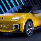 nuevo renault 5 electrico amarillo